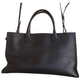 Balenciaga-Padlock work-Black