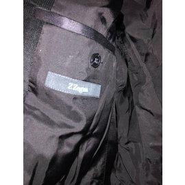 Ermenegildo Zegna-Blazers Jackets-Black