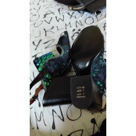 Dries Van Noten-sandals-Black