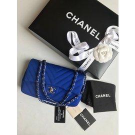 Chanel-Medium Flap Bag-Blue
