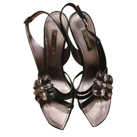 Louis Vuitton-Sandales-Noir