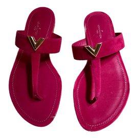 Louis Vuitton-sandals-Pink