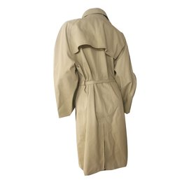 Hermès-Trench coats-Cream