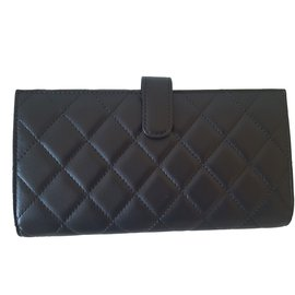 Chanel-Timeless Wallet-Black