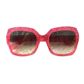 Gucci-Lunettes-Rose