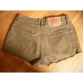 Levi's-Mini short-Kaki