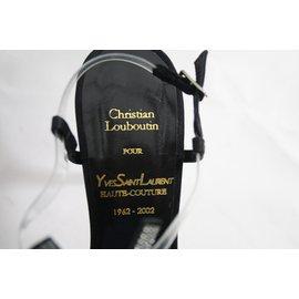 Christian Louboutin-YSL Casandre-Noir