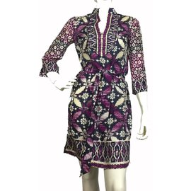 Tory Burch-Robes-Multicolore