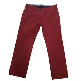 Hermès-Pantalons homme-Rouge