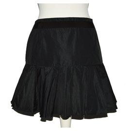 Moncler-Skirts-Black