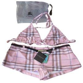 Burberry-Swimwear-Pink