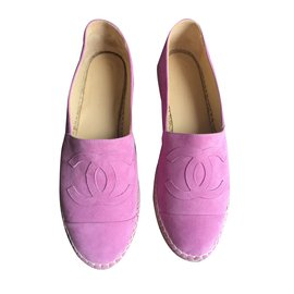 Chanel-Espadrilles-Pink
