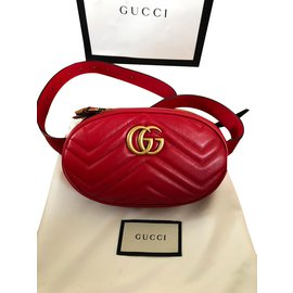 Gucci-Clutch bags-Red