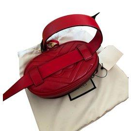 Gucci-Sacos de embreagem-Vermelho