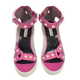 Balenciaga-Heels-Pink
