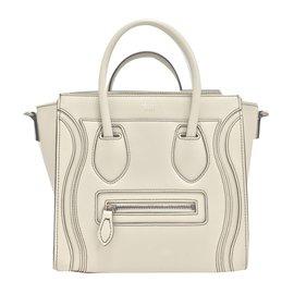 Céline-Nano Luggage-Beige
