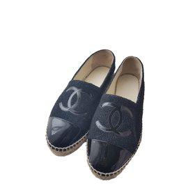 Chanel-Espadrilles-Noir