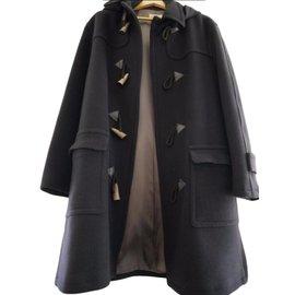 Hermès-Men Coats Outerwear-Navy blue