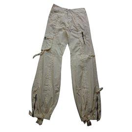 Ermanno Scervino-Pantalon-Beige