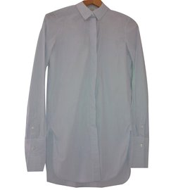Céline-Shirt-White,Blue