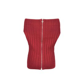 Chanel-Knit top-Red