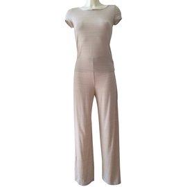 Emporio Armani-Tailleur pantalon-Beige