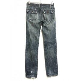 Comme Des Garcons-Jeans-Bleu