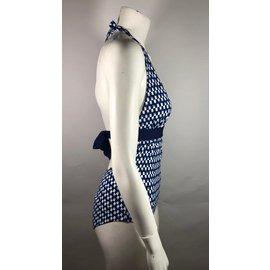 Autre Marque-Maillot de bain Tart Swim-Blanc,Bleu