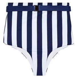 Autre Marque-Maillot de bain Fella-Blanc,Bleu Marine