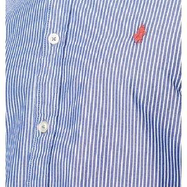 Autre Marque-Chemise manches longues-Bleu