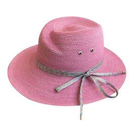 Maison Michel-Hats-Pink