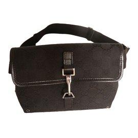 Gucci-belt bag GG-Noir