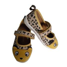 EMU Australia-ballerines souris-Imprimé léopard