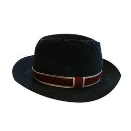 Hermès-Chapeau Hermès-Bleu