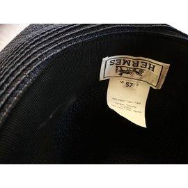 Hermès-Hats-Blue