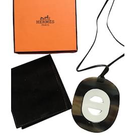 Hermès-Necklaces-Brown