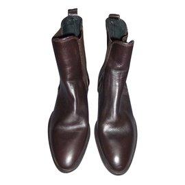 Torrente-boots-Dark brown