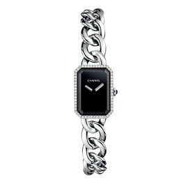 Chanel-Premiere chain watch-Silvery