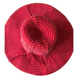 Chanel-Hats-Red