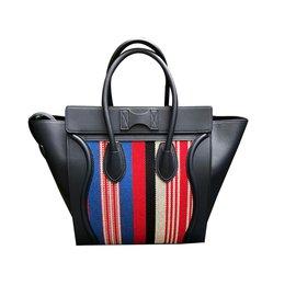 Céline-Luggage-Bleu