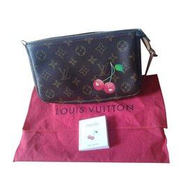 Louis Vuitton-Pochette cerises VINTAGE-Marron