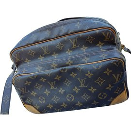 Louis Vuitton-Nile 28-Marron foncé
