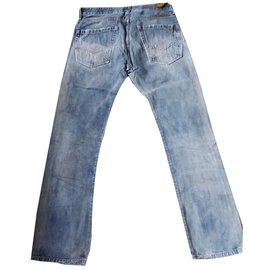 Autre Marque-Jeans Replay-Bleu