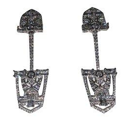 APM Monaco-Earrings-Silvery