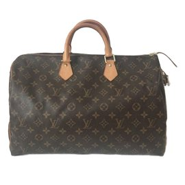 Louis Vuitton-Speedy 40-Marron