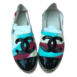 Chanel-Espadrilles-Multicolore