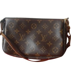 Louis Vuitton-Pochette cerises VINTAGE-Marron