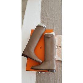 Hermès-Bottes Jumping-Autre