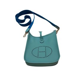 Hermès-Handbags-Blue