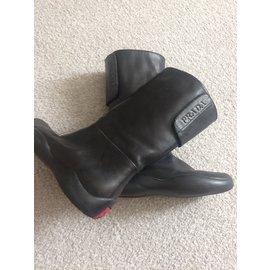 Prada-boots-Black